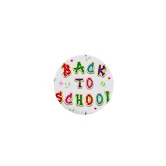Back To School 1  Mini Buttons