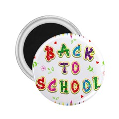 Back To School 2 25  Magnets
