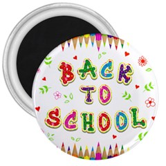 Back To School 3  Magnets