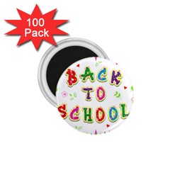 Back To School 1 75  Magnets (100 Pack)