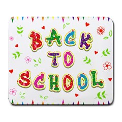 Back To School Large Mousepads