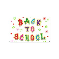 Back To School Magnet (Name Card)