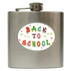 Back To School Hip Flask (6 Oz)