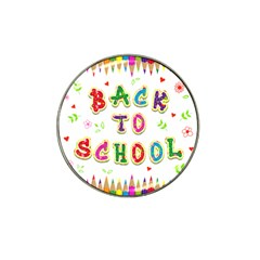 Back To School Hat Clip Ball Marker