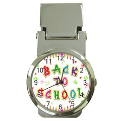 Back To School Money Clip Watches