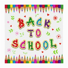 Back To School Medium Glasses Cloth