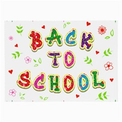 Back To School Large Glasses Cloth