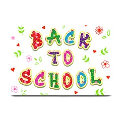 Back To School Plate Mats