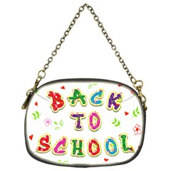 Back To School Chain Purses (One Side)