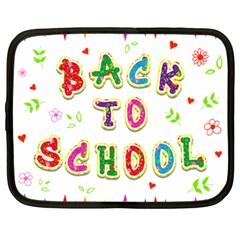 Back To School Netbook Case (XL)