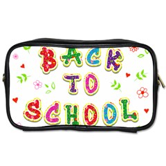 Back To School Toiletries Bags 2 Side