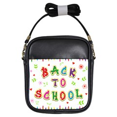 Back To School Girls Sling Bags