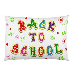 Back To School Pillow Case (two Sides)
