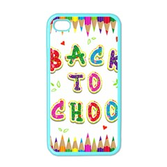 Back To School Apple Iphone 4 Case (color)