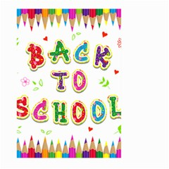 Back To School Large Garden Flag (two Sides)