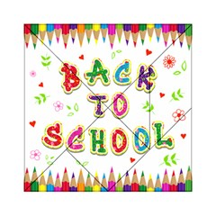 Back To School Acrylic Tangram Puzzle (6  X 6 )