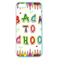 Back To School Apple Seamless Iphone 5 Case (color)