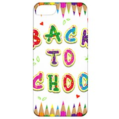 Back To School Apple Iphone 5 Classic Hardshell Case
