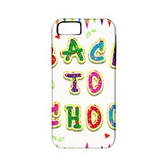 Back To School Apple Iphone 5 Classic Hardshell Case (pc+silicone)