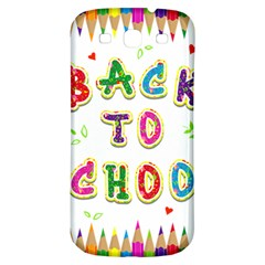 Back To School Samsung Galaxy S3 S Iii Classic Hardshell Back Case