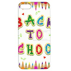 Back To School Apple Iphone 5 Hardshell Case With Stand