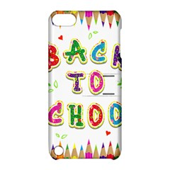 Back To School Apple iPod Touch 5 Hardshell Case with Stand