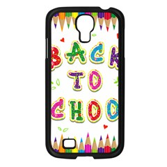 Back To School Samsung Galaxy S4 I9500/ I9505 Case (Black)