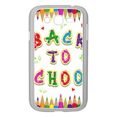 Back To School Samsung Galaxy Grand Duos I9082 Case (white)