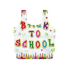 Back To School Full Print Recycle Bags (s)