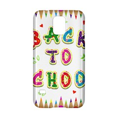 Back To School Samsung Galaxy S5 Hardshell Case