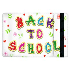 Back To School iPad Air Flip