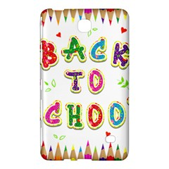 Back To School Samsung Galaxy Tab 4 (7 ) Hardshell Case