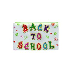 Back To School Cosmetic Bag (xs)
