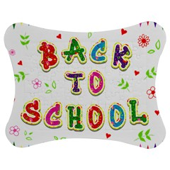 Back To School Jigsaw Puzzle Photo Stand (bow)