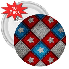 Atar Color 3  Buttons (10 Pack)