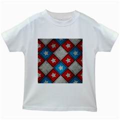 Atar Color Kids White T Shirts