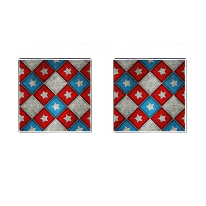 Atar Color Cufflinks (Square)