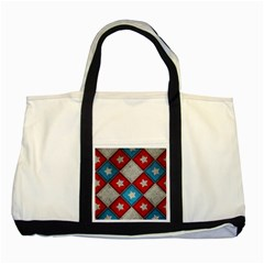 Atar Color Two Tone Tote Bag