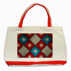 Atar Color Classic Tote Bag (red)