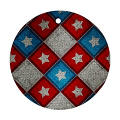 Atar Color Round Ornament (two Sides)
