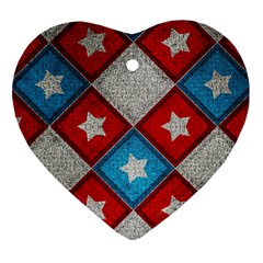 Atar Color Heart Ornament (two Sides)