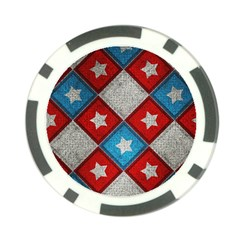 Atar Color Poker Chip Card Guard (10 pack)