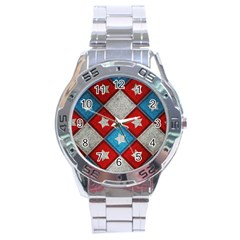 Atar Color Stainless Steel Analogue Watch