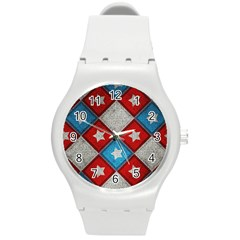 Atar Color Round Plastic Sport Watch (M)