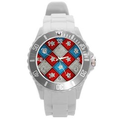 Atar Color Round Plastic Sport Watch (l)