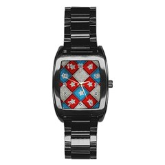 Atar Color Stainless Steel Barrel Watch
