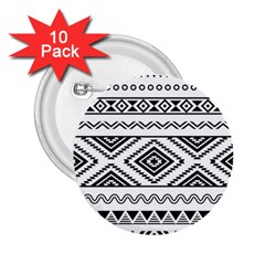 Aztec Pattern 2.25  Buttons (10 pack)