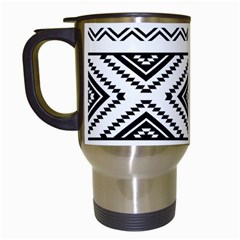 Aztec Pattern Travel Mugs (white)