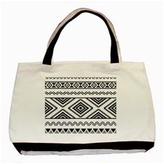 Aztec Pattern Basic Tote Bag