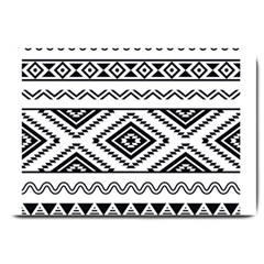 Aztec Pattern Large Doormat